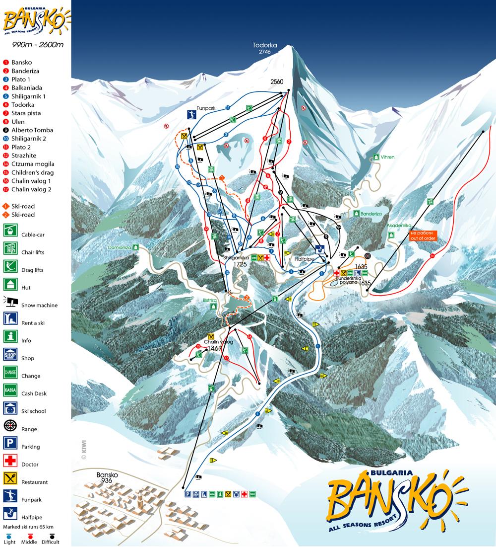 map-ski-bansko